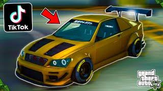 Making & Rating Viral TikTok GTA 5 Online Car Customization Videos! (Part 14)