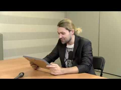 Wywiad Junior dziennikarzy z Davidem Garrettem   Gdańsk, 27 10 2017