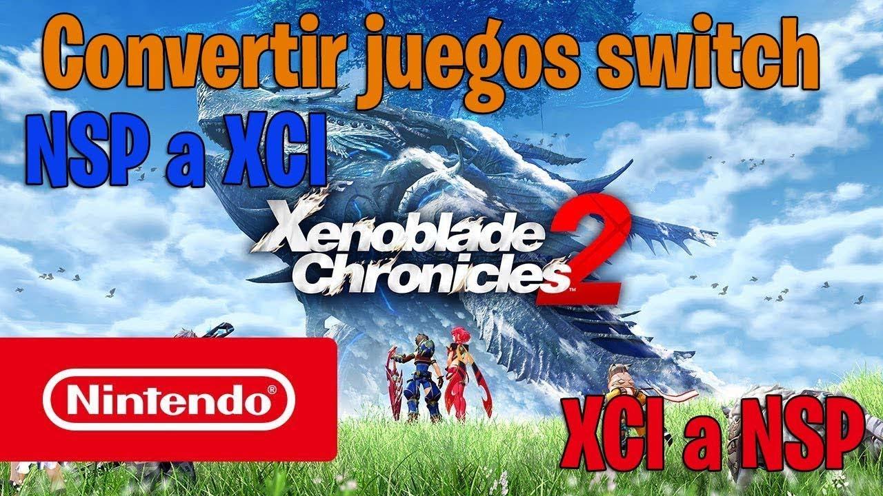 Tutorial Convertir NSP a XCI o viceversa 4nxci by Gameradict