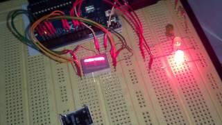 Semáforo com contador regressivo - Arduino