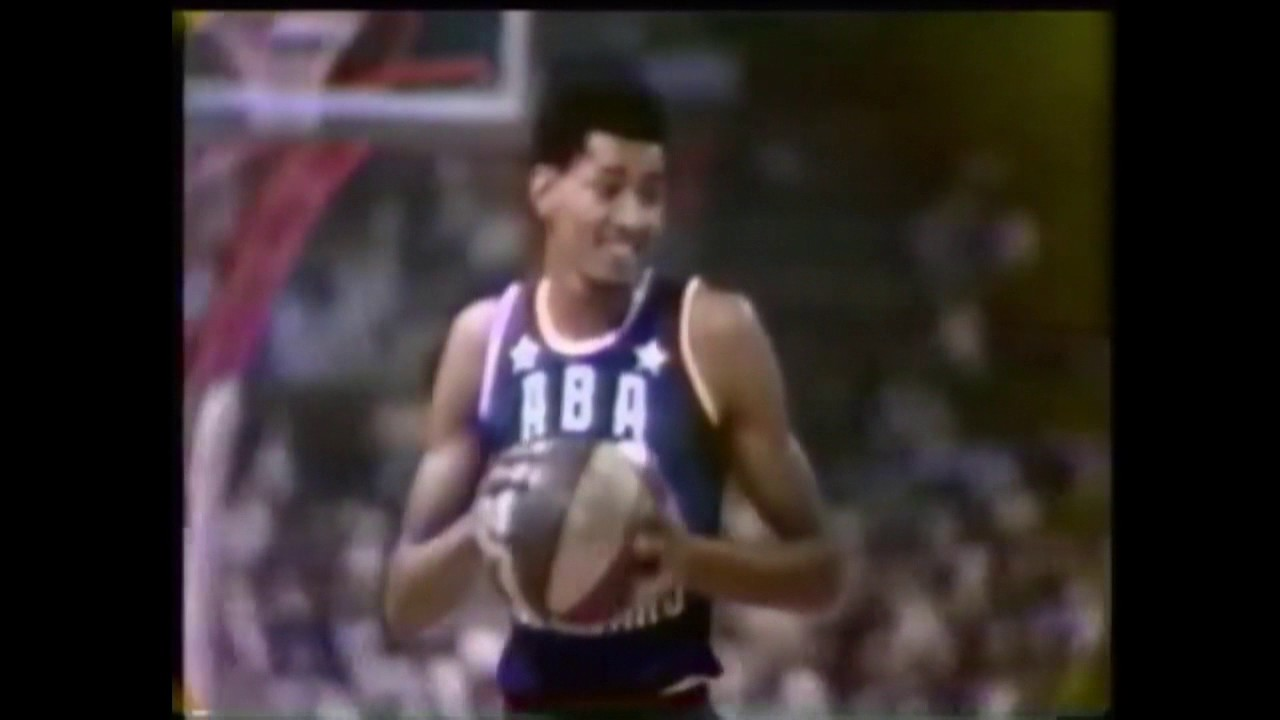 George Gervin 1976 ABA Slam Dunk Contest