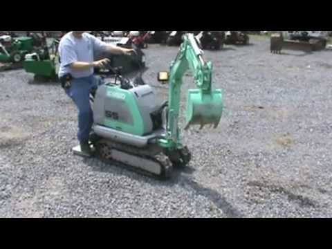 Kobelco SS Mini Excavator Compact Mini 2 Speed AWSOME LITTLE MACHINE FOR SALE MARK SUPPLY CO
