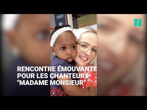 """Le Groupe """"Madame Monsieur"""" A Rencontré Mercy, La Migrante Qui A Inspiré Leur Chanson à L'Eurovision"""