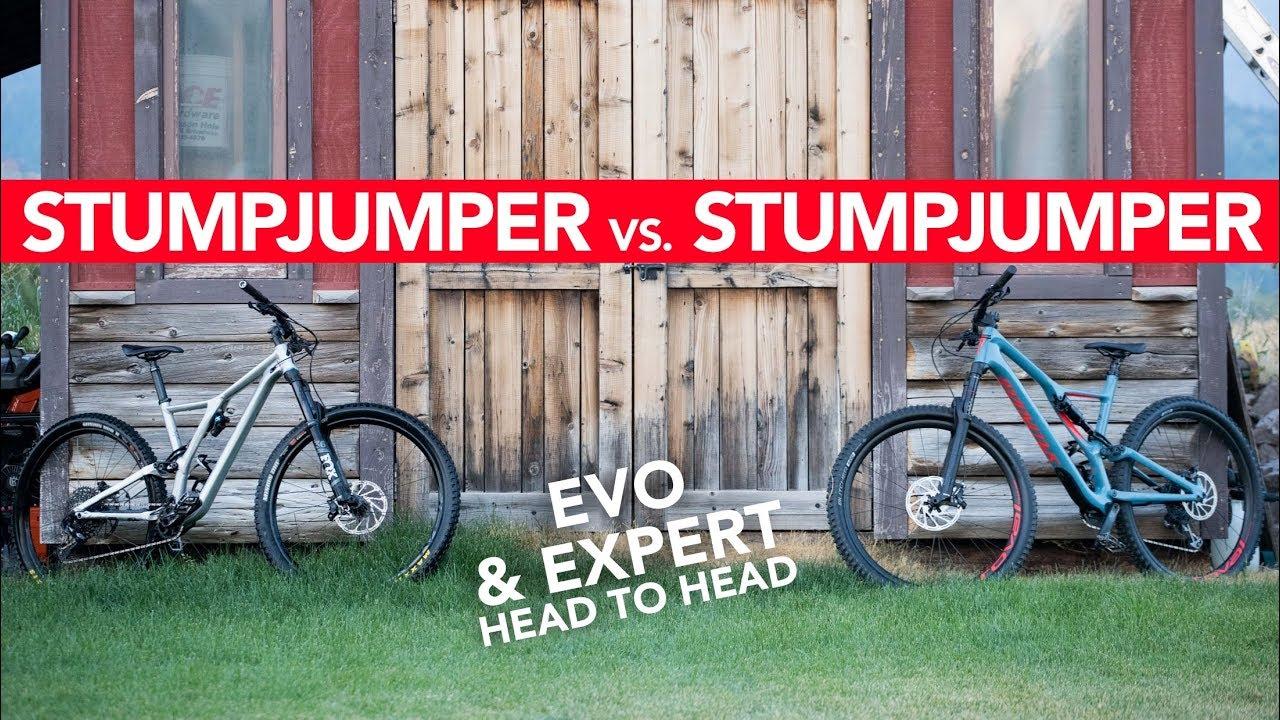 Specialized Stumpjumper EVO vs  Stumpjumper - REVIEW