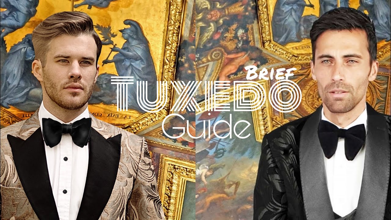 Brief Guide To Wearing A Tuxedo Suit : Mochee Kent