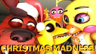FNAF SFM Christmas Madness at Freddy Fazbear s Pizzeria Ft Baby Foxy and My Cupcake Animation