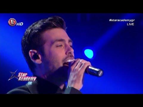 "Kostas Martakis - Live Medley At ""Star Academy Greece"" (2017)"