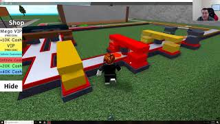 First Time Playing Roblox! Pizza Factory! (Giveaway and Shoutout!)
