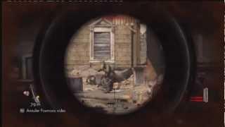 Découverte démo Sniper Elite V2 PS3
