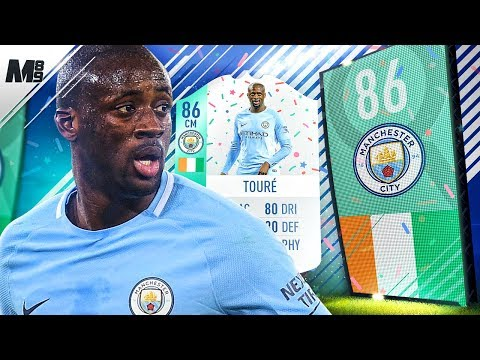 FIFA 18 FUT BIRTHDAY YAYA TOURE REVIEW | 86 YAYA TOURE PLAYER REVIEW | FIFA 18 ULTIMATE TEAM
