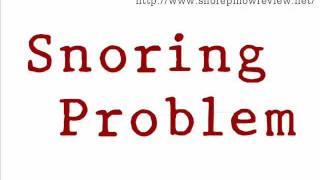 How to Stop Snoring - Anti Snore Pilliow