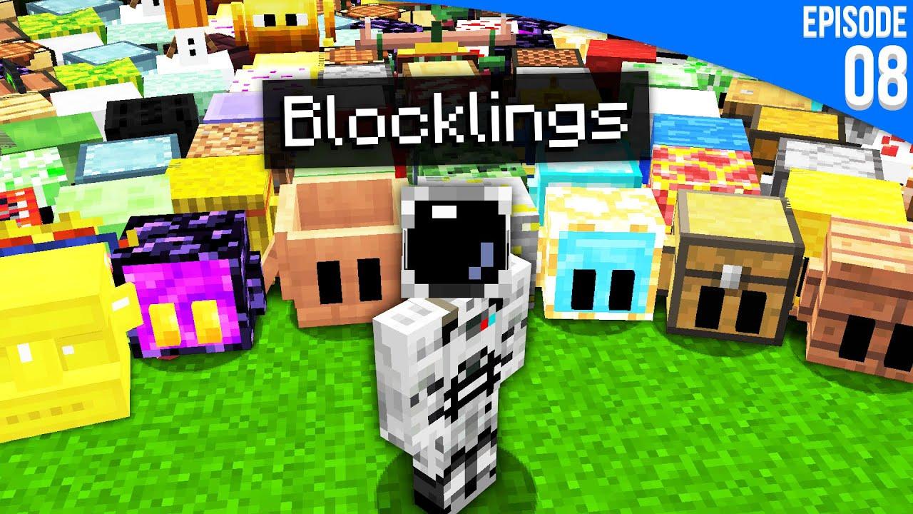 Download J'ai adopté 700 Blocklings pour qu'ils me suivent partout... | Minecraft Moddé S6 | Episode 08
