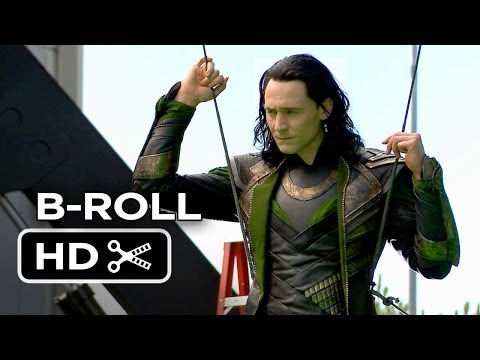 Thor: The Dark World Complete B-Roll (2013) - Chris Hemsworth Marvel Movie HD