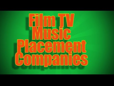 Film TV Music Placement Companies