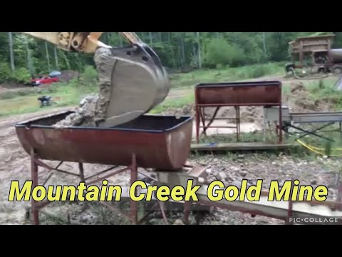 Mountain Creek Gold Mine North Carolina USA