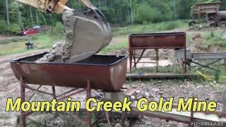 Mountain Creek Gold Mine North Carolina USA