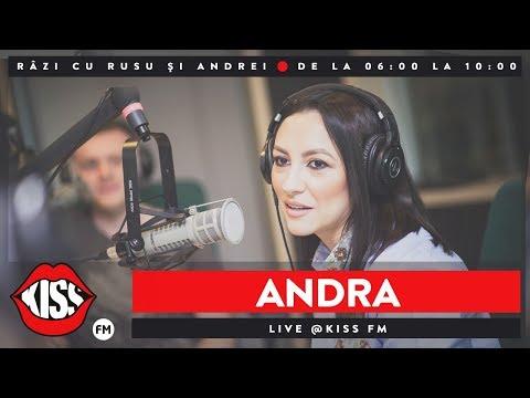 Andra live La Kiss FM - Razi cu Rusu si Andrei