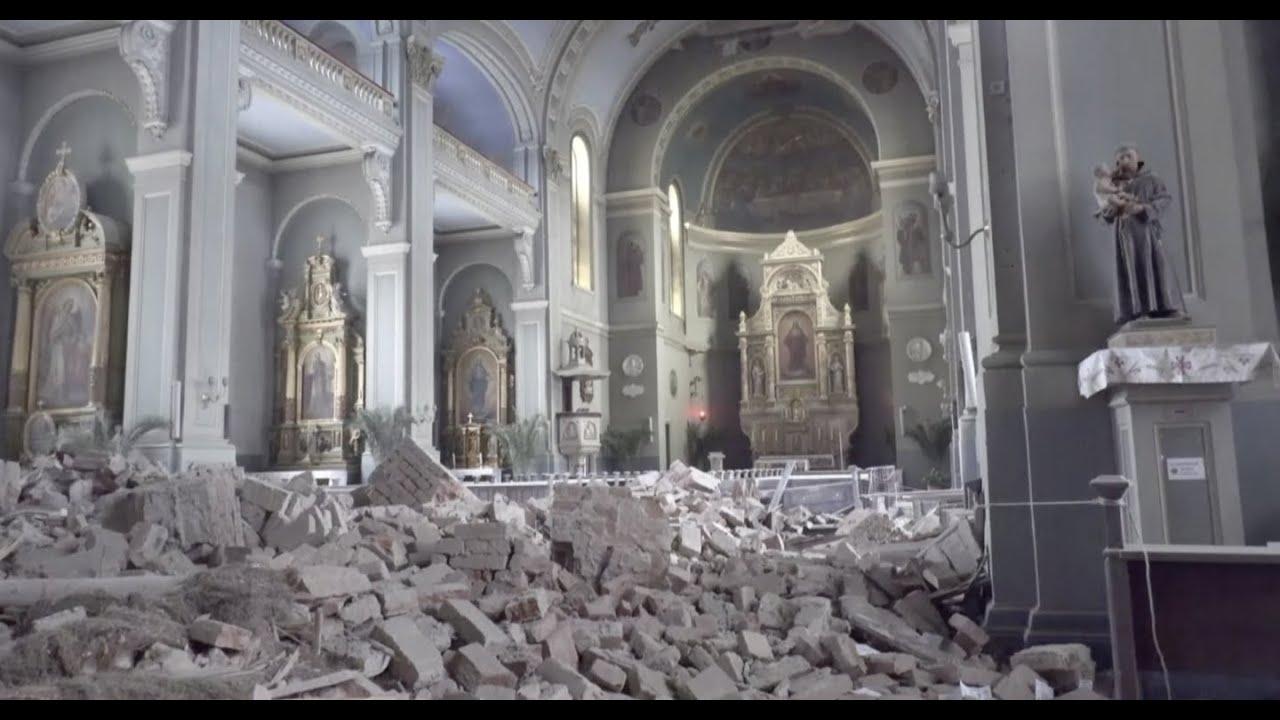 Terremoto Devasta Croacia Papa Francisco Pede Oracoes