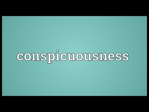 Header of conspicuousness