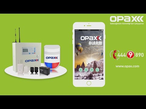 OPAX ARD-2545 Akıllı Yönetilebilir Ev / İşyeri GSM Alarm Sistemi