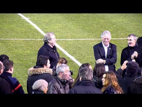Hommage à Claude Papi au stade de Porto-Vecchio le 30 janvier 2013