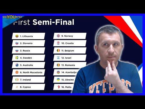 Eurovision 2021: Semi Final 1   Qualifiers Prediction - Top 16