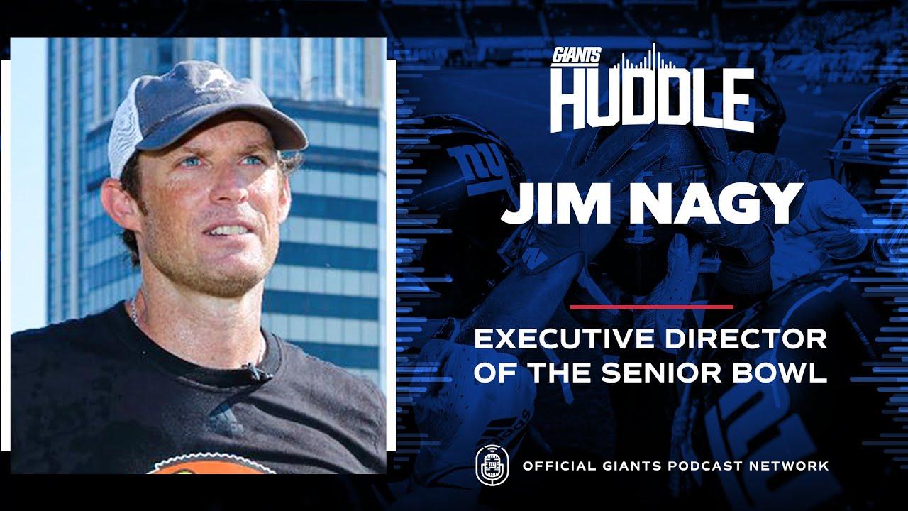 Jim Nagy Talks Daniel Jones, Kadarius Toney, Azeez Ojulari & More | New York Giants