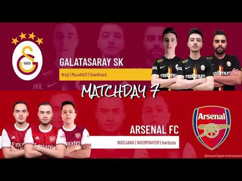 Galatasaray SK vs. Arsenal FC | Highlights Matchday 7 eFootball.Pro IQONIQ 2020-2021