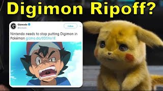 Detective Pikachu Means Pokemon is A Digimon Ripoff? | @GatorEXP