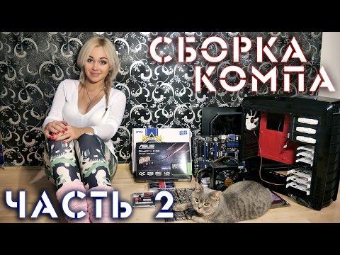 видео: Сборка компьютера своими руками! ч.2