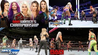 Top 8 WWE Womens Fatal 5 Way/6 Pack Challenge Matches