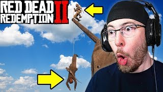 FUNNY MOMENTS and FAILS in Red Dead Redemption 2!