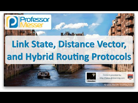 Link State, Distance Vector, and Hybrid Routing Protocols  - CompTIA Network+ N10-006 - 1.9