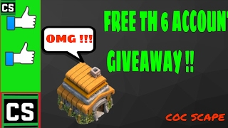 FREE TH 6 ACCOUNT GIVEAWAY (2017)  [ LINK IN DESCRIPTION ]