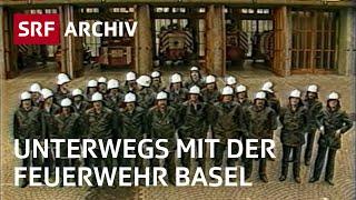 Eine Woche mit der Feuerwehr Basel (1987) | Doku-Serie | Leben in Basel | SRF Archiv