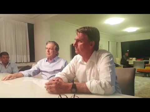 Coletiva de imprensa - Bolsonaro e PSL