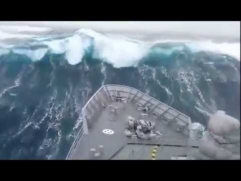 Badai Laut Selatan Southern Ocean Storm