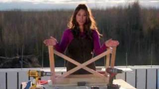 Ana White: How to Build a Rustic X Bench Plans