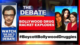 Bollywood Drug Racket Explodes, Chats Accessed | The Debate With Arnab Goswami