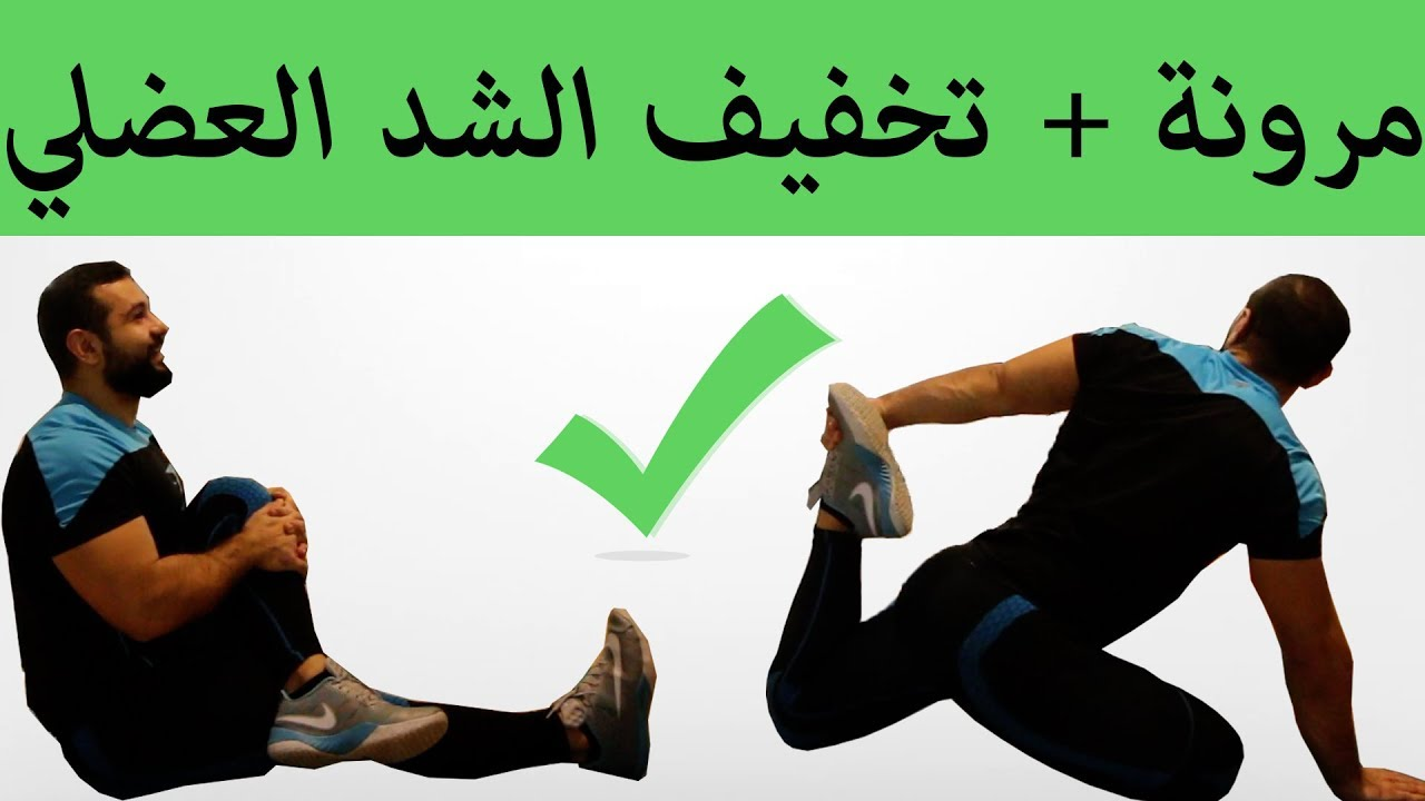 تمارين الإطالة لمرونة الجسم والتخلص من الشد العضلي Youtube