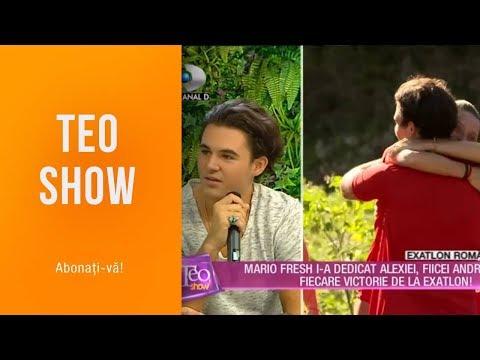 Teo Show (26.03.2019) - Mario Fresh, cea mai emotionanta eliminare de la Exatlon!