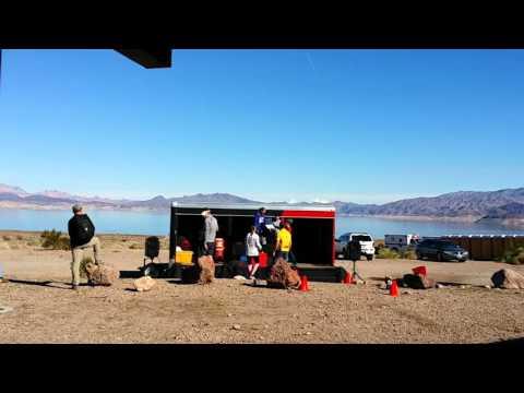 Lake Mead Marathon - Awards Ceremony [09-JAN-2016] Near Las Vegas, Nevada