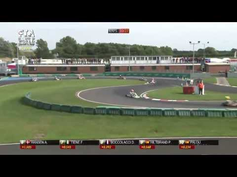 CIK FIA WORLD CHAMPIONSHIP ROUND1  KF FINAL