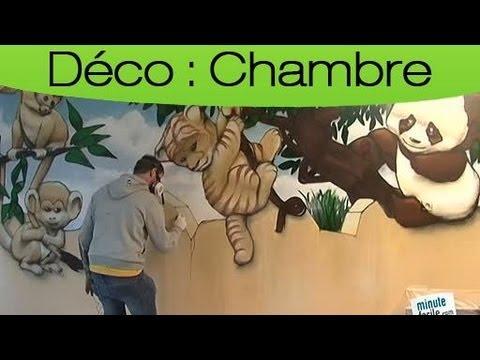 Graffiti  Fresque Murale Pour Chambre DEnfant  Youtube