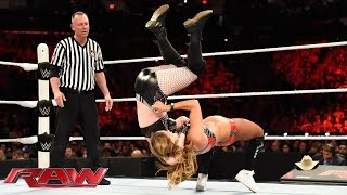 Nikki Bella vs. Paige - Divas Championship Match: Raw, June 1, 2015