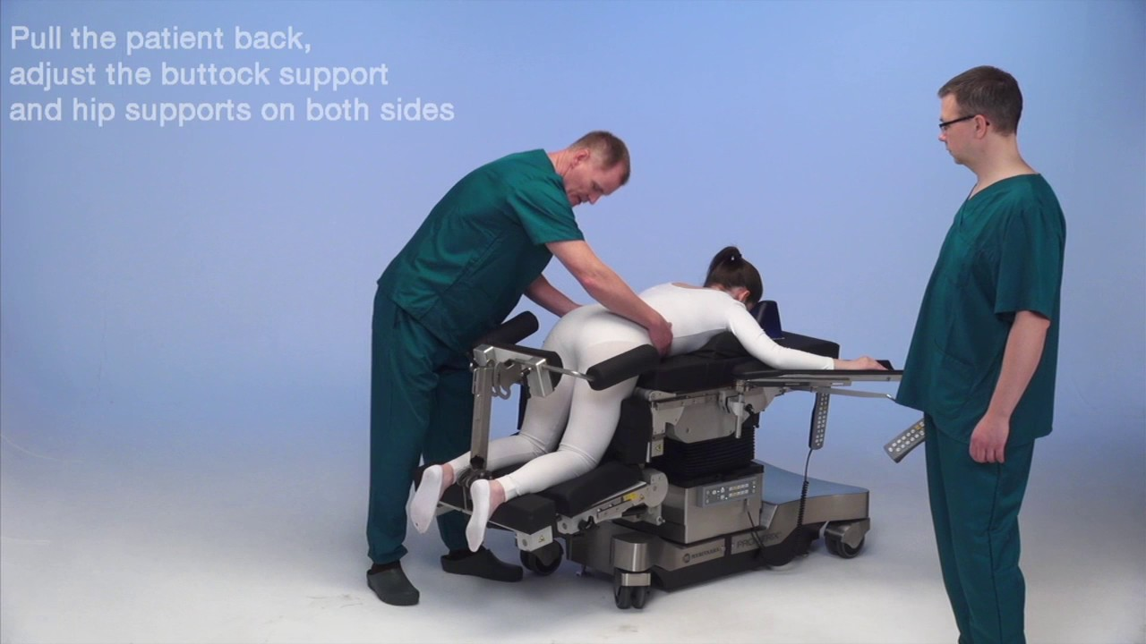 Patient positioning 7 ...