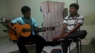 Mental Manadhil  OK Kanmani   Guitar Cover Unplugged   YouTube