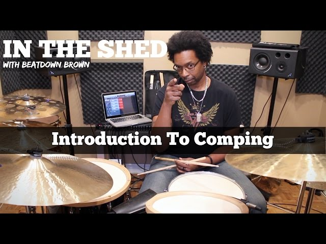 IN THE SHED Ep15 - JAZZ DRUMMING - Intro To Comping