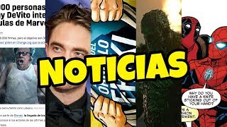 ¿DEADPOOL y SPIDER-MAN juntos? | Increíble SWAMP THING | Wonder Woman 1984 | STAR WARS IX
