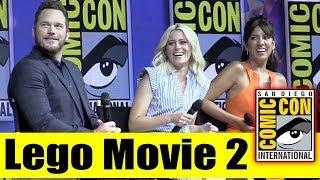 The LEGO MOVIE 2: The Second Part | Comic Con 2018 Full Panel (Chris Pratt, Elizabeth Banks)